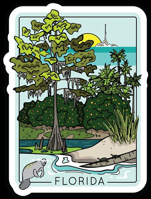 Florida Travel Sticker