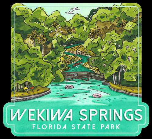 Wekiwa Springs Florida State Park Sticker