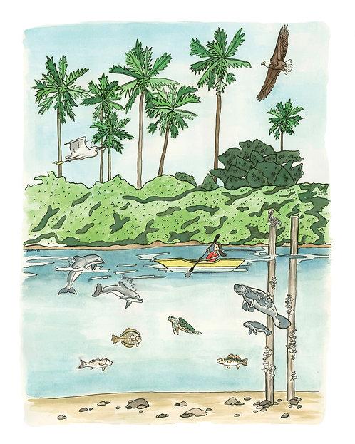 Wildlife Original Painting
