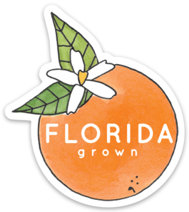 Florida Grown Sticker
