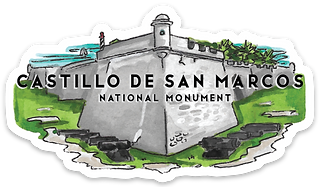 Castillo de San Marcos National Monument Sticker