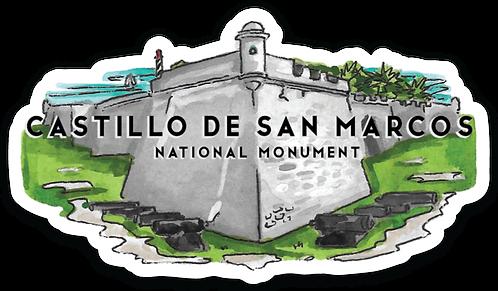 Castillo de San Marcos National Monument Sticker