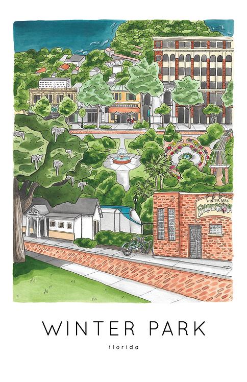 Winter Park Print