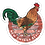 Thumbnail: Flagler Avenue Rooster Sticker