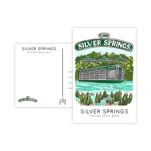 Silver Springs Postcard