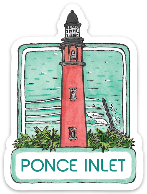 Ponce Inlet Sticker