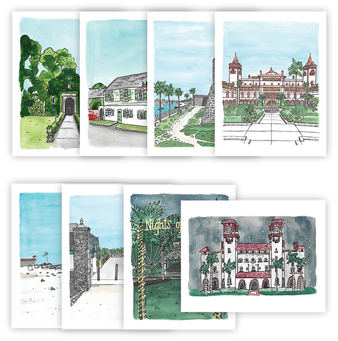 St. Augustine Notecard Set of 8