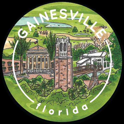 Gainesville Travel Sticker