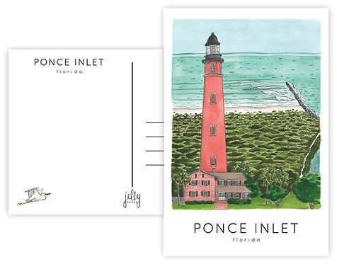 Ponce Inlet Postcard