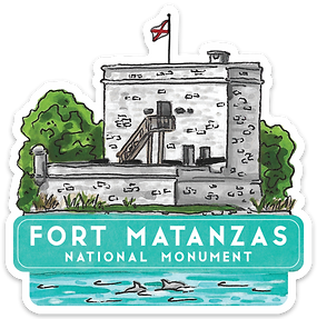 Fort Matanzas National Monument Sticker