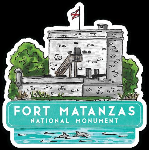 Fort Matanzas National Monument Sticker