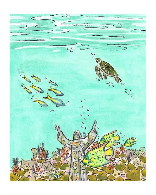 John Pennekamp Coral Reef Florida State Park Print