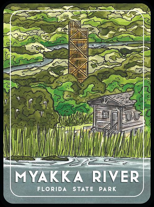 Myakka Florida State Park Sticker