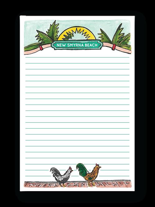 New Smyrna Beach Notepad
