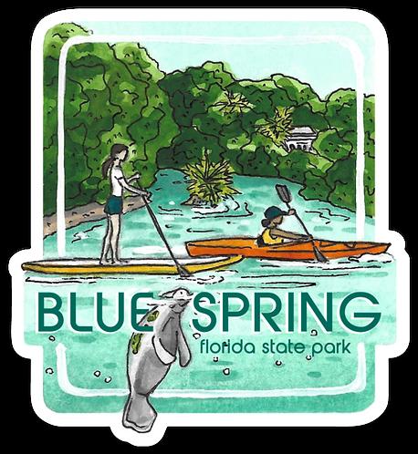 Blue Spring Florida State Park Sticker
