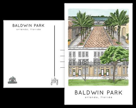 Baldwin Park Postcard
