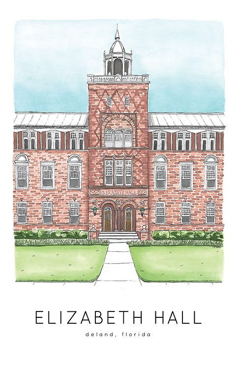 Elizabeth Hall Print