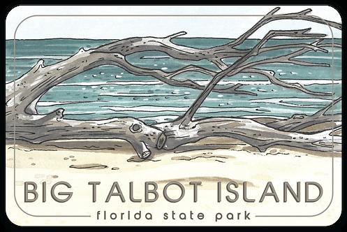 Big Talbot Island Florida State Park Sticker
