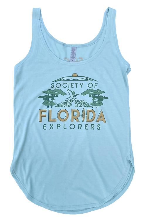 Society of Florida Explorers Womens Tank