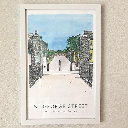 St. George Street Print
