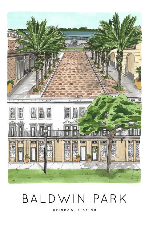 Baldwin Park Print