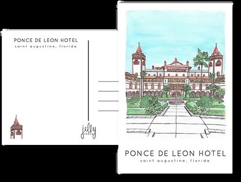 Ponce de Leon Hotel Postcard