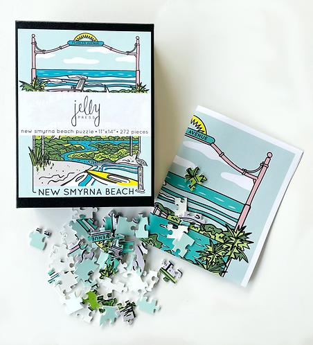 New Smyrna Beach Puzzle (252 pieces)