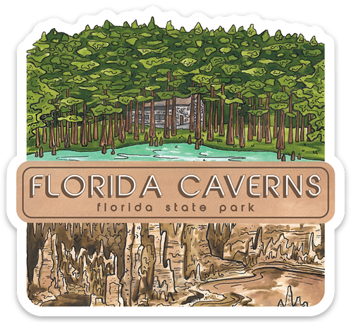 Florida Caverns State Park Sticker