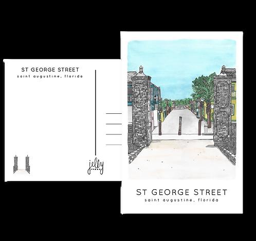 St. George Street Postcard