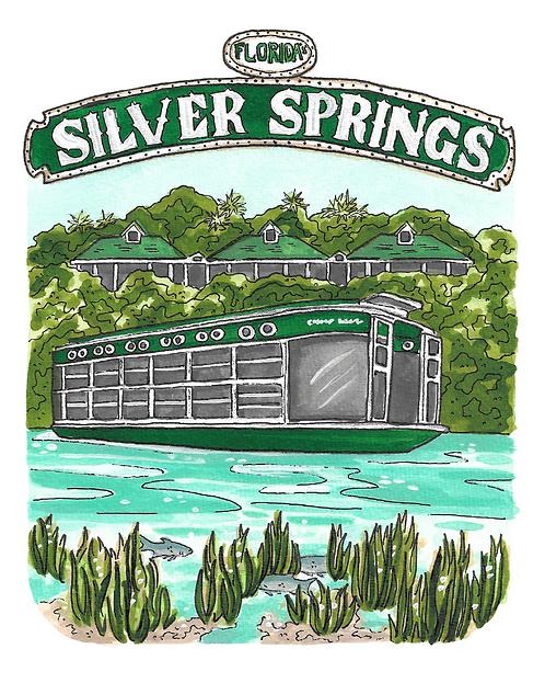 Silver Springs State Park Print