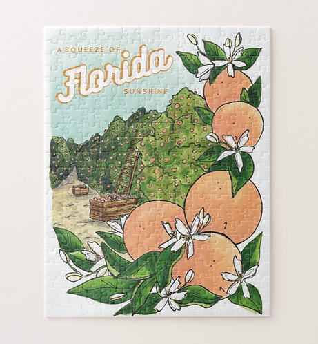 A Squeeze of Florida Sunshine Puzzle