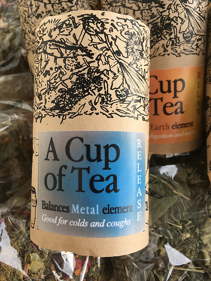 RELEASE: A cup of Tea to balance the METAL element