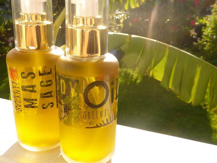 Green Blessing     Body Oil    Massage Blend