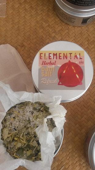 Fire / Refresh Elemental herbal Bath salt