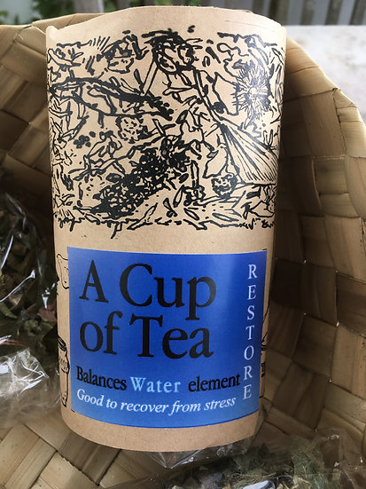 RESTORE: A cup of Tea to balance the WATER element