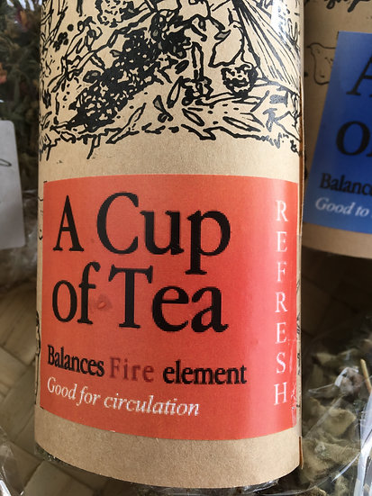 REFRESH: A cup of Tea to balance the FIRE element