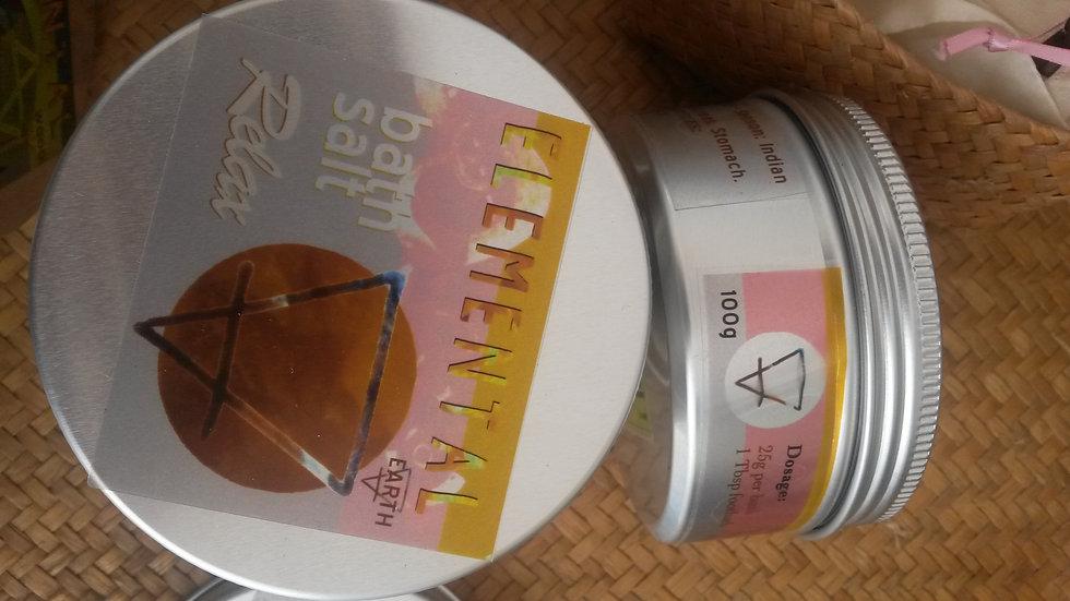 Earth / Relax Elemental herbal Bath salts
