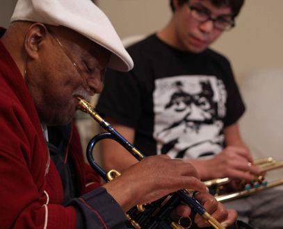Josh Shpak & Clark Terry - Trumpet & Flugelhorn