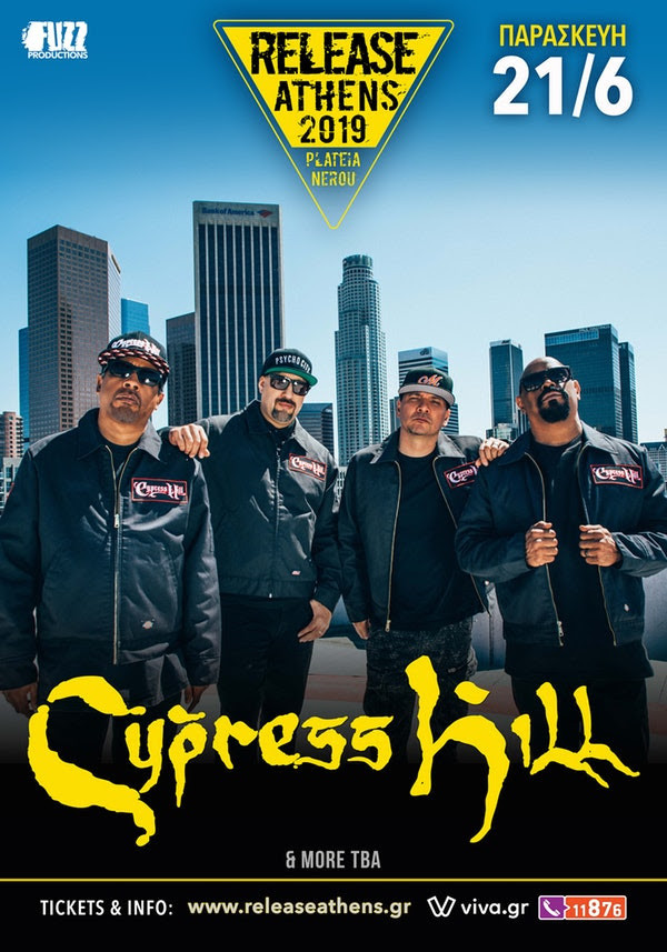 Cypress Hill Release Athens wave 97.4