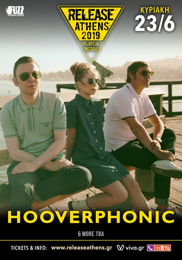 Hooverphonic Release Athens 2019 wave 97.4