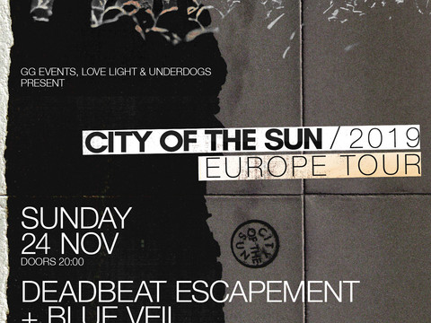 City of the Sun live στην Πατρα