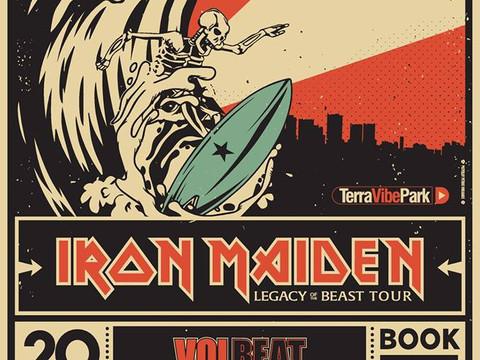 Rockwave Festival 2018 IRON MAIDEN,Volbeat,TREMONTI