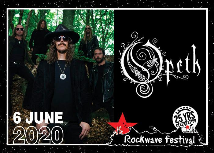 Opeth rockwave 2020 wave 97.4