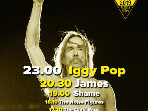 Ώρες εμφάνισης για  8 Ιουνίου IGGY POP