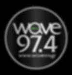 Wave 97.4 logo (Black) site.png