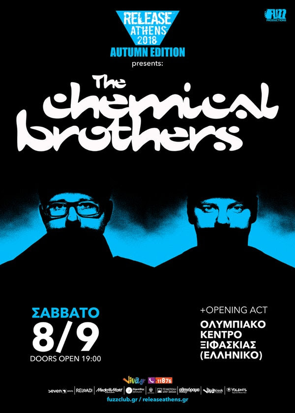 chemical brothers release athens 2018 wave 97.4