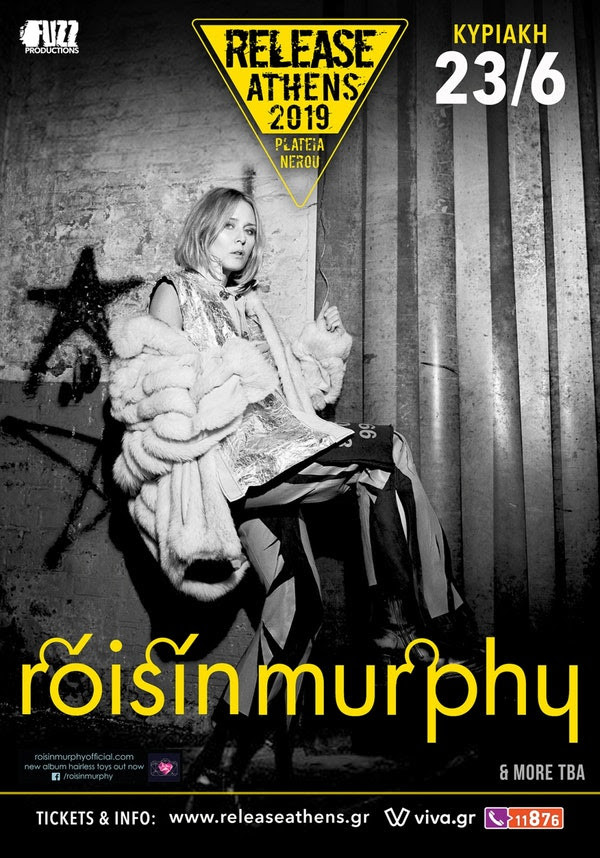 Roisin Murphy Release Athens 2019 wave 97.4