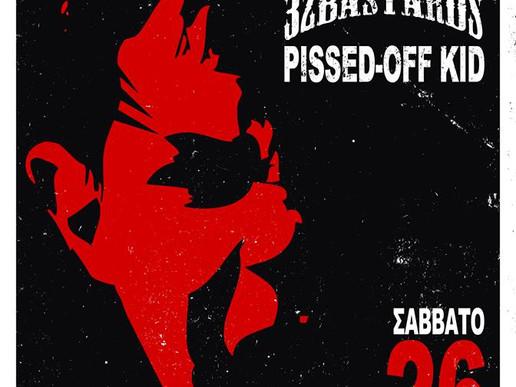 Vodka Juniors +32Bastards & Pissed Off Kid Live στην Πάτρα