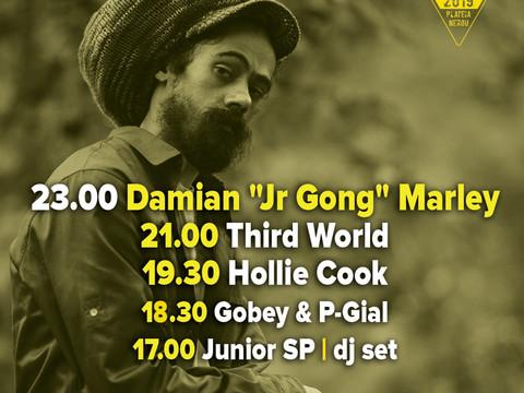 Ωρες εμφάνισης για 7 Ιουνίου Damian Marley