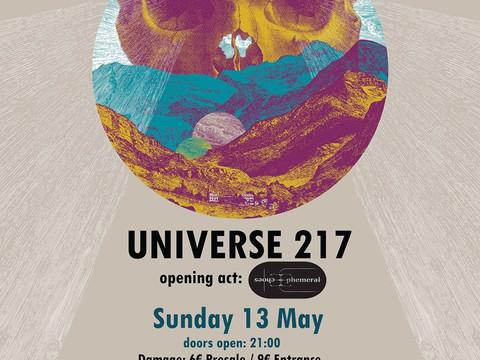 Universe217 ζωντανά στη Πάτρα
